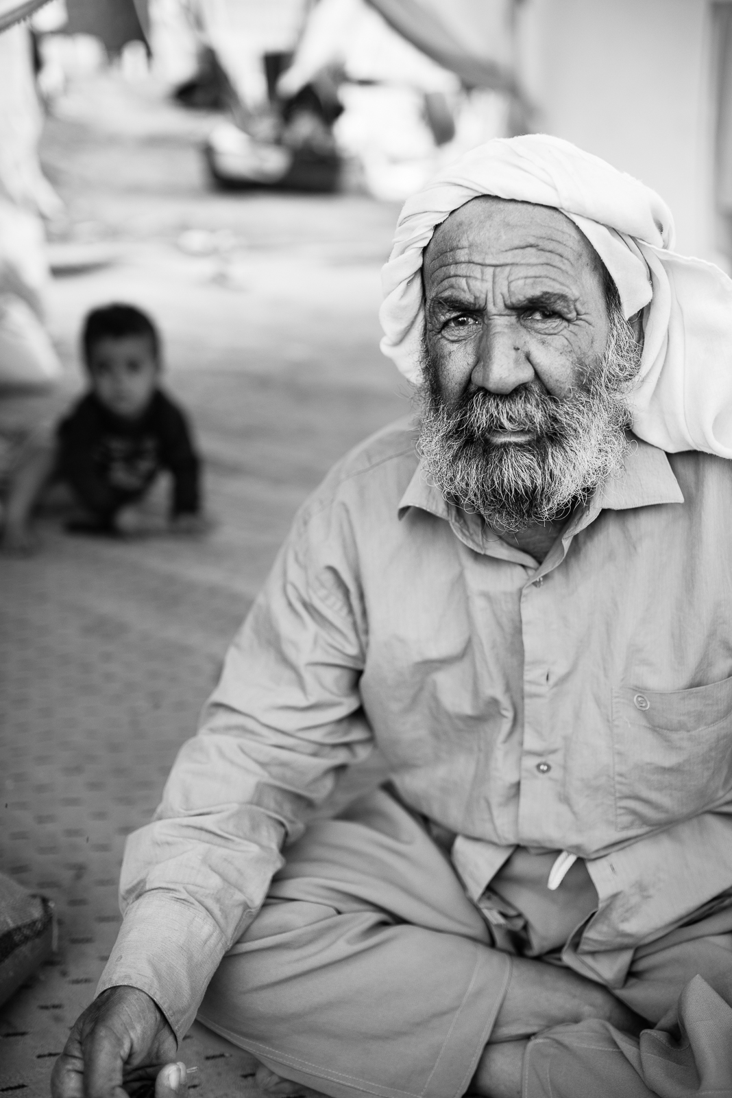 Age in contrast, Zakho's refugees camp
