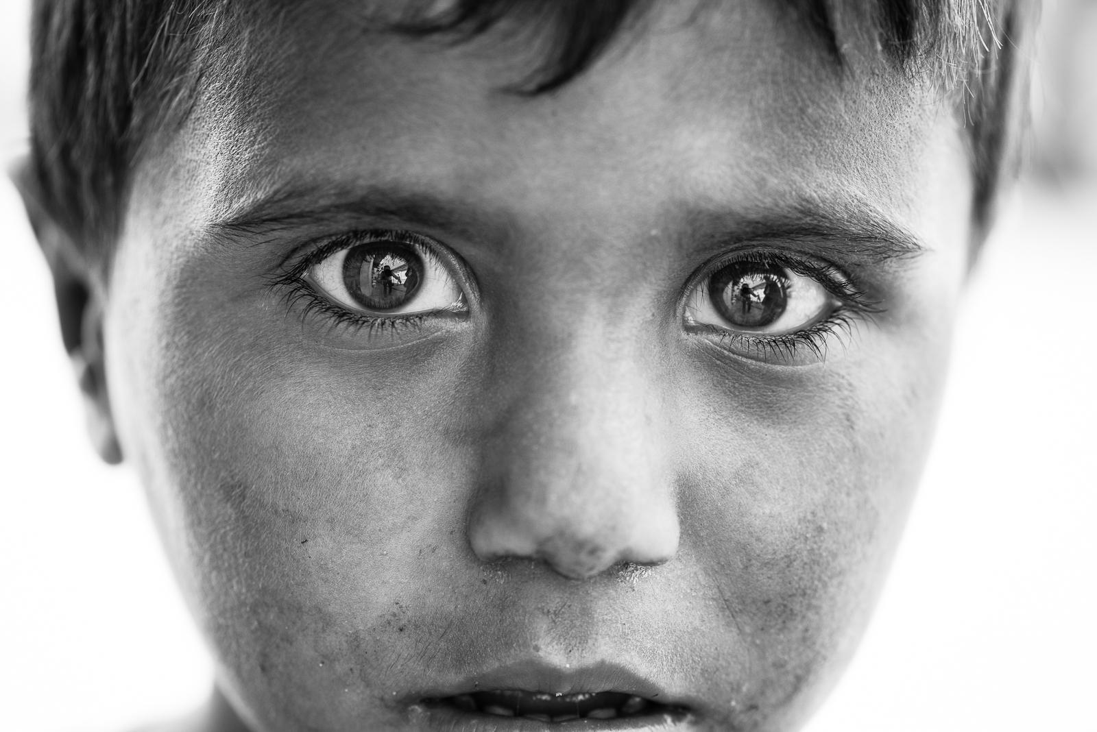 The power of child's gaze, Zakho