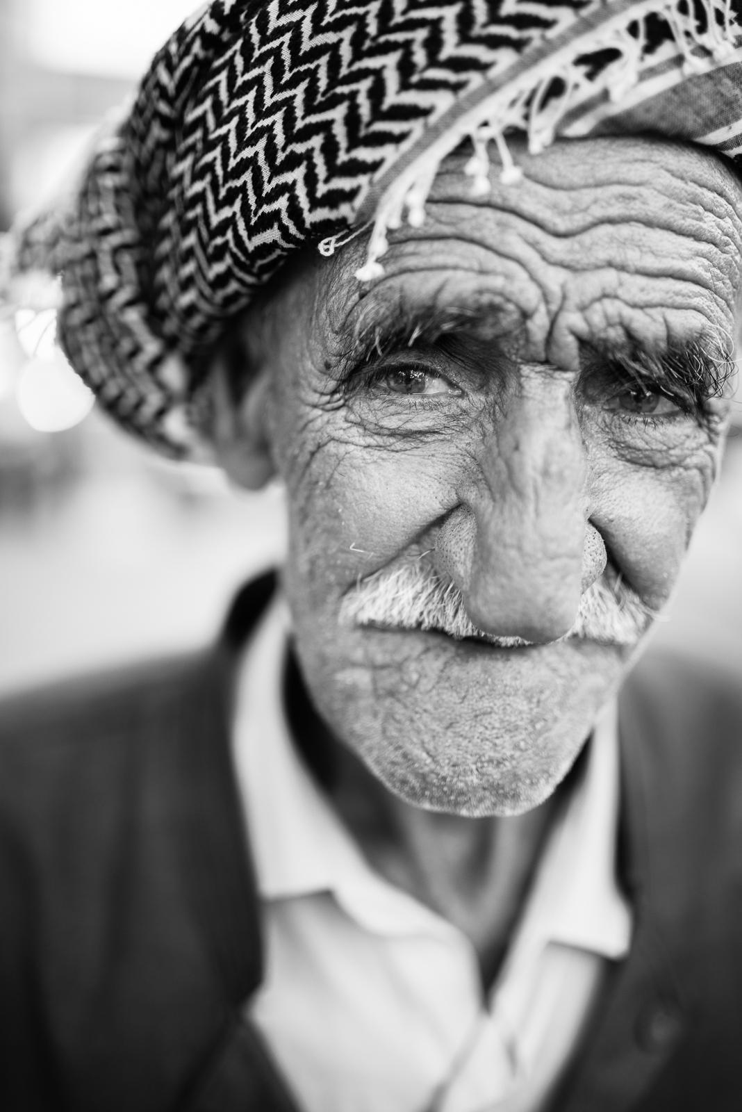 Elder man in Erbil