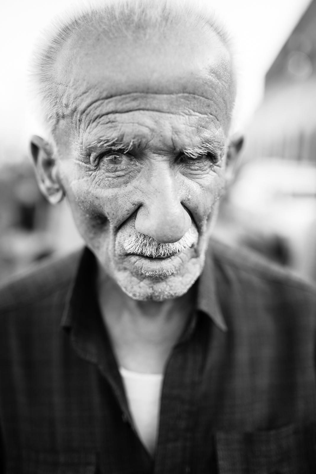 Old man in Erbil