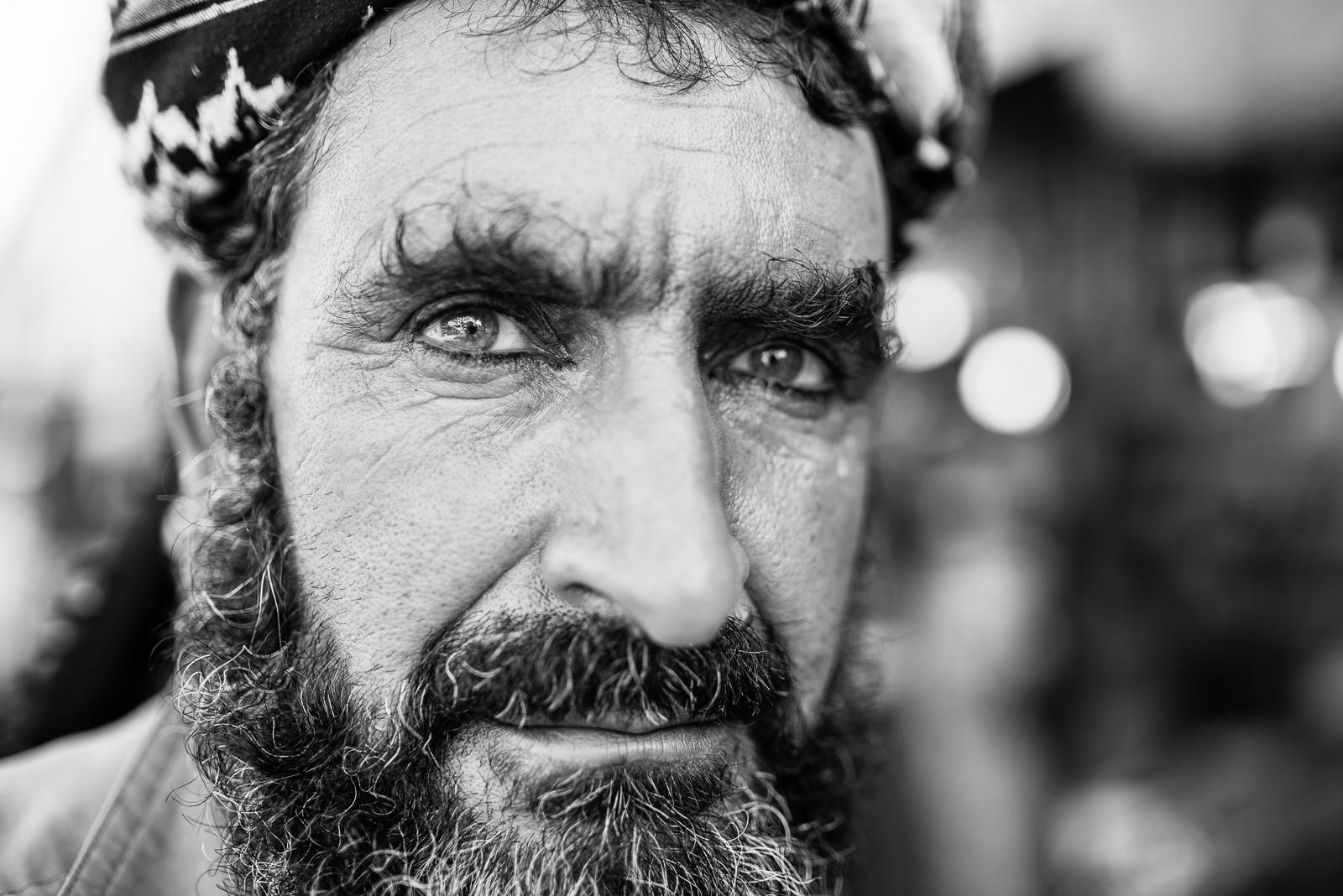 Portrait from the street, Diyarbakir (Turkey)
