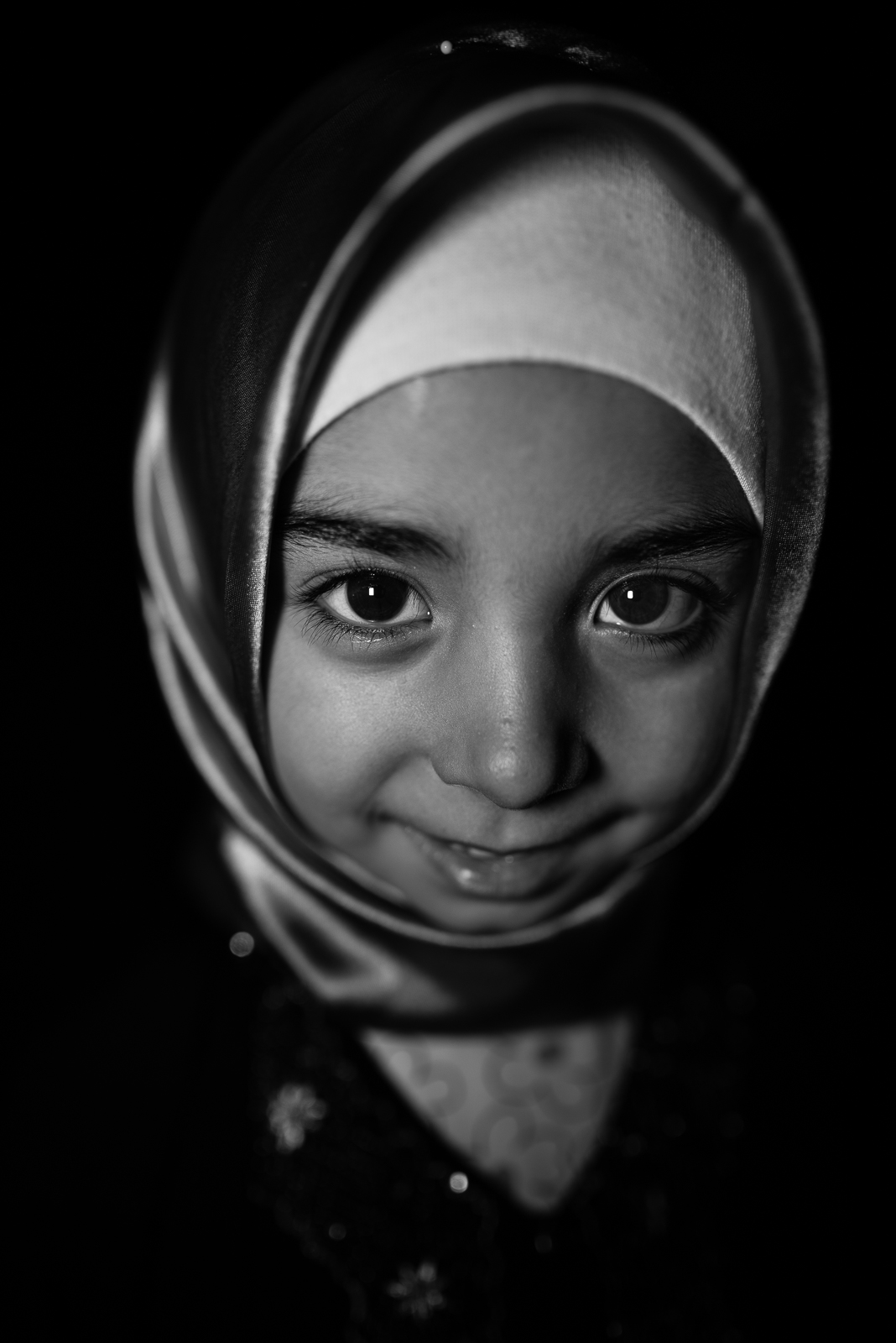 A Syrian girl in Kilis