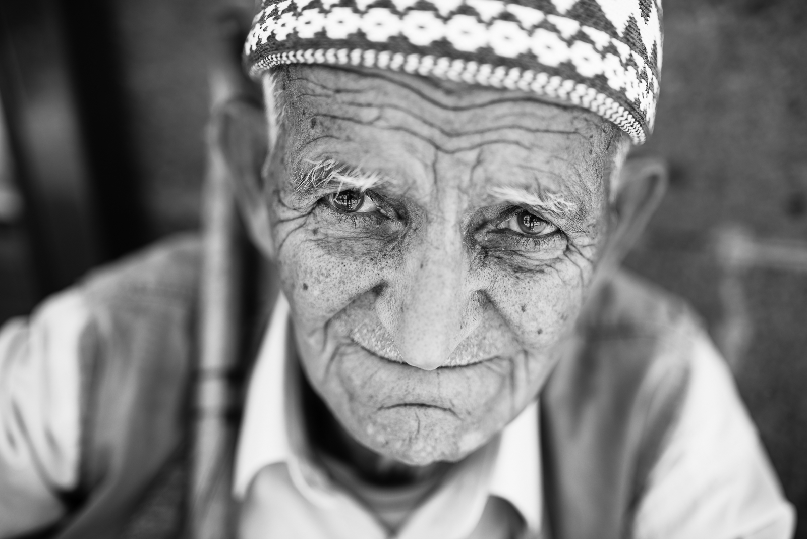 An old man in Diyarbakir