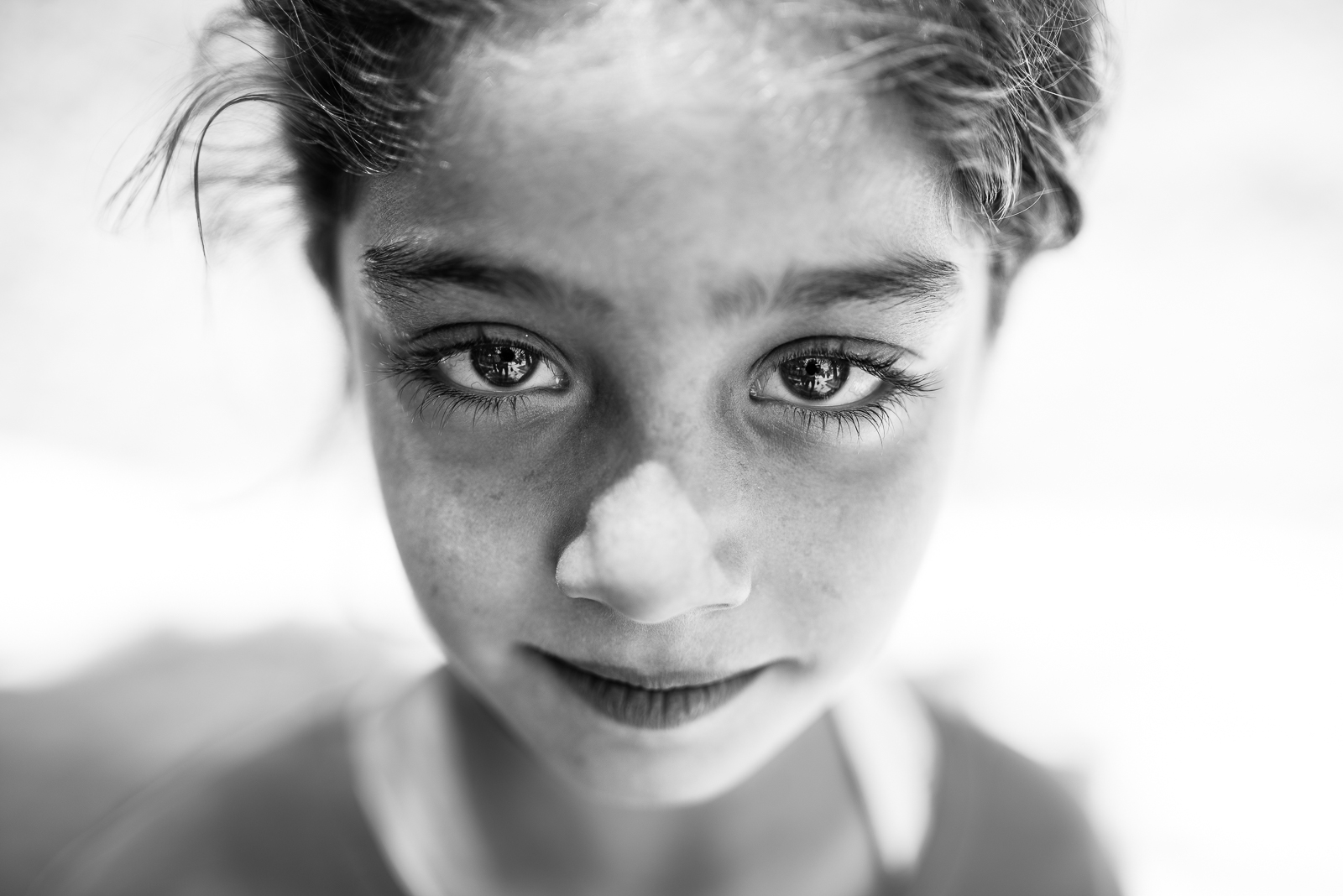 A little girl in the Sanliurfa's halleys. The video of this photo is  here