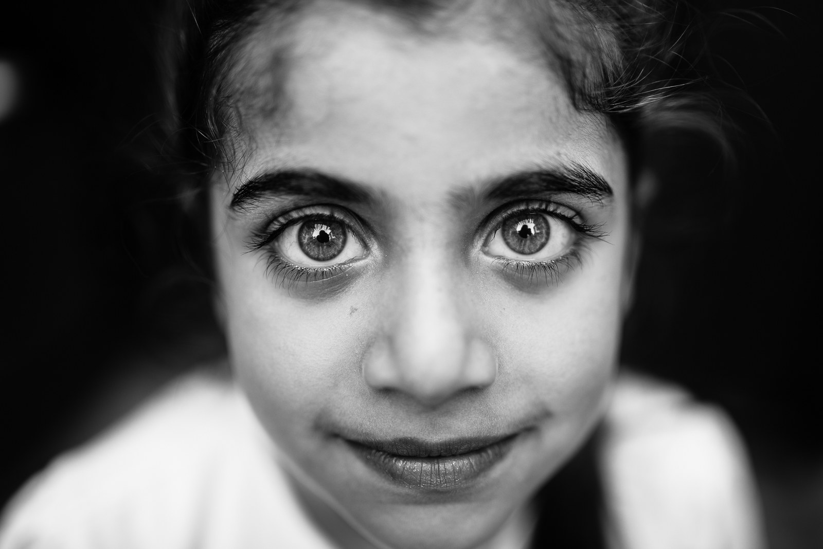 A little girl in Gaziantep. The video of this photo is  here