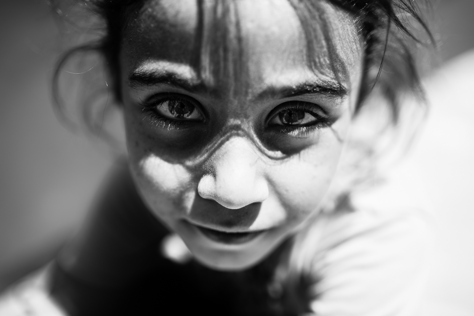 A beautiful little girl captured in Sanliurfa