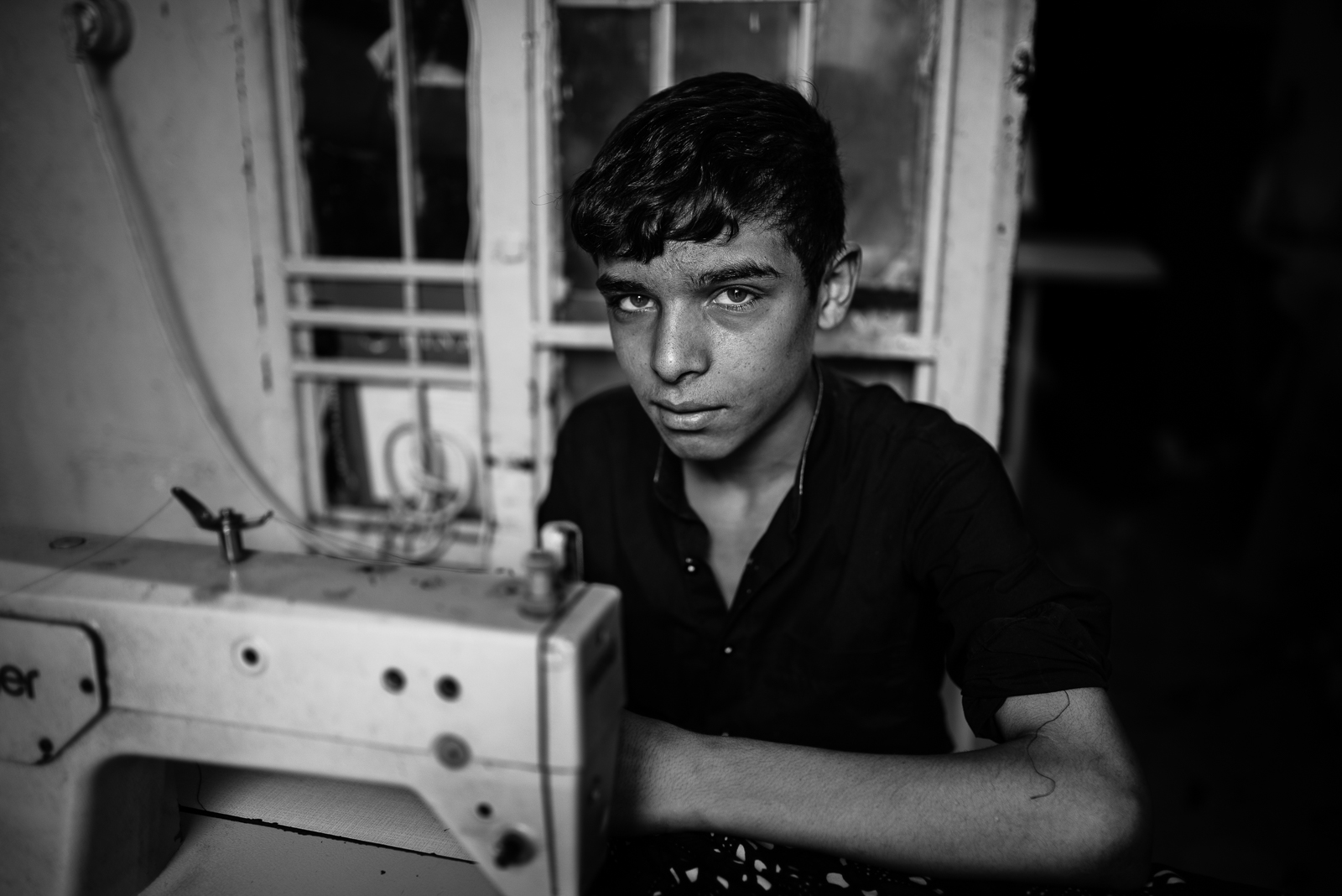 A boy at work in Sanliurfa