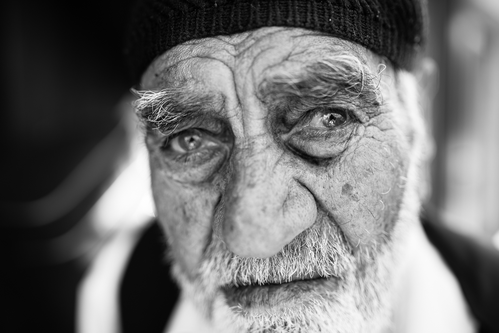 An elder man in Diyarbakir