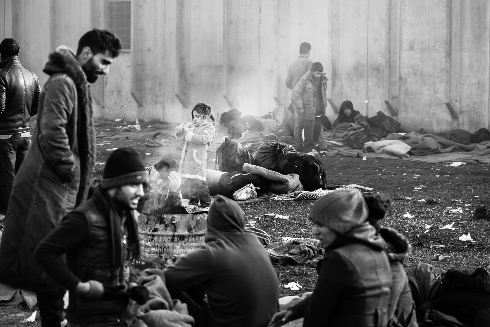 Degradation inside a camp