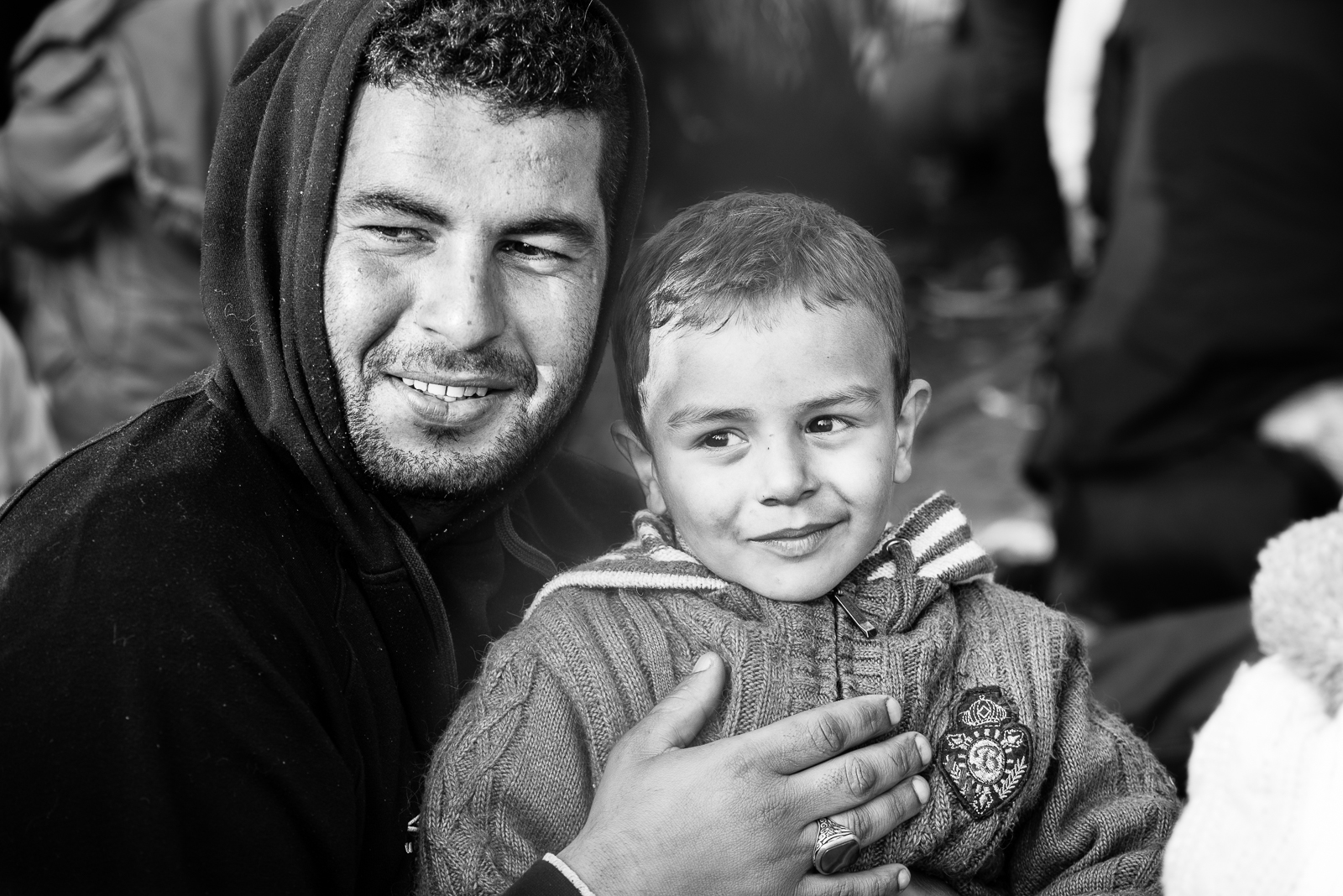 Father and son, syrian proud