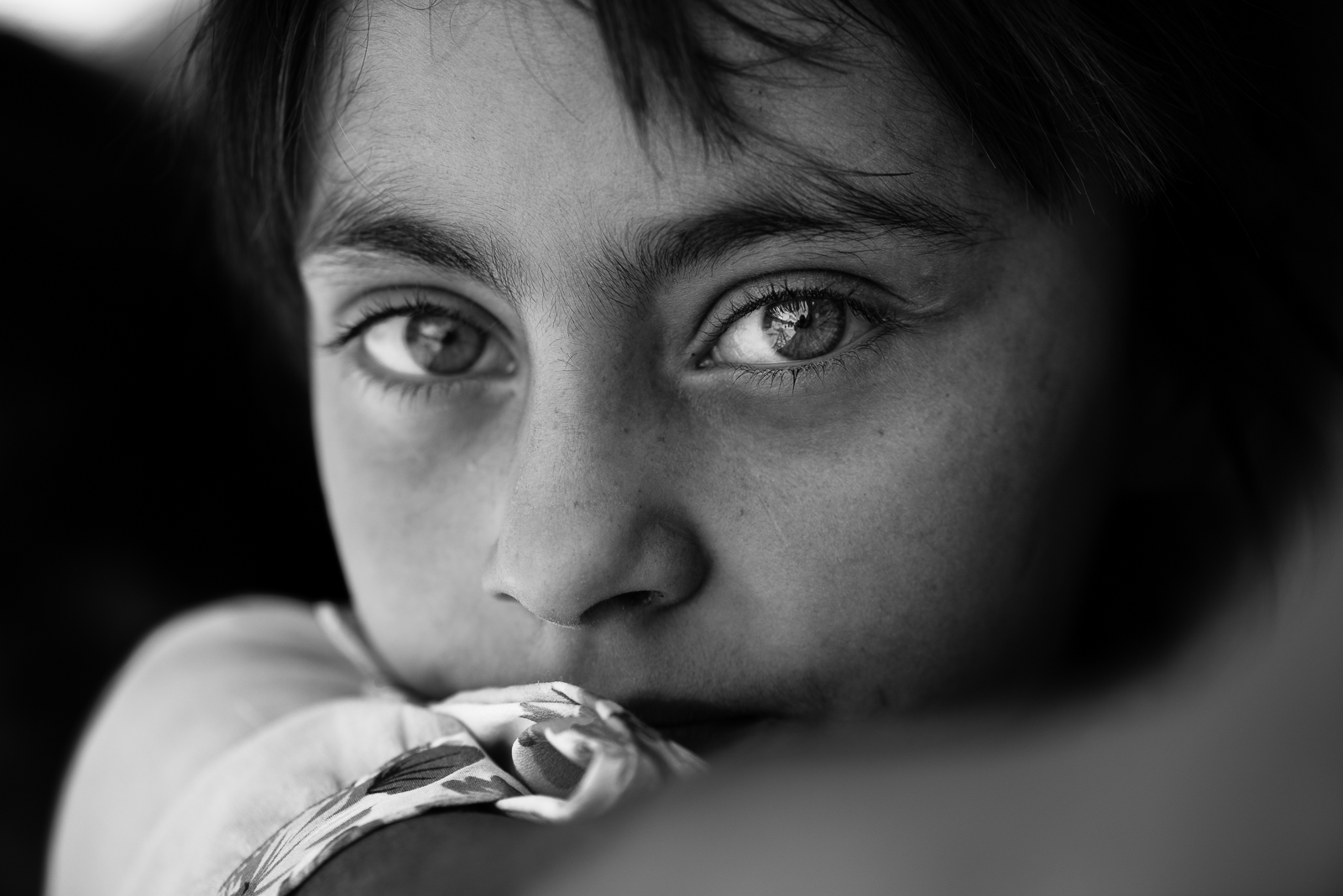 Girl in Diyarbakir, Turkey.