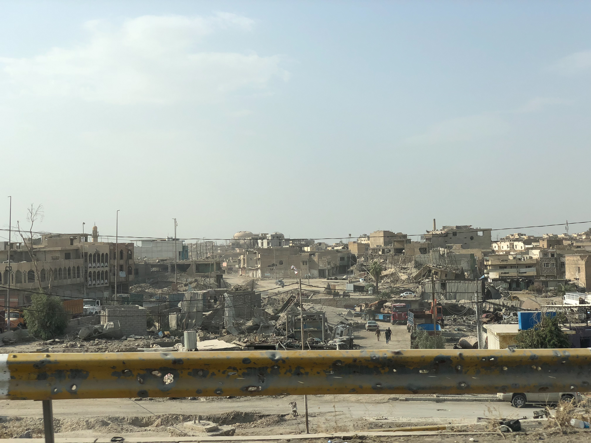 The old part of Mosul, still destroyed