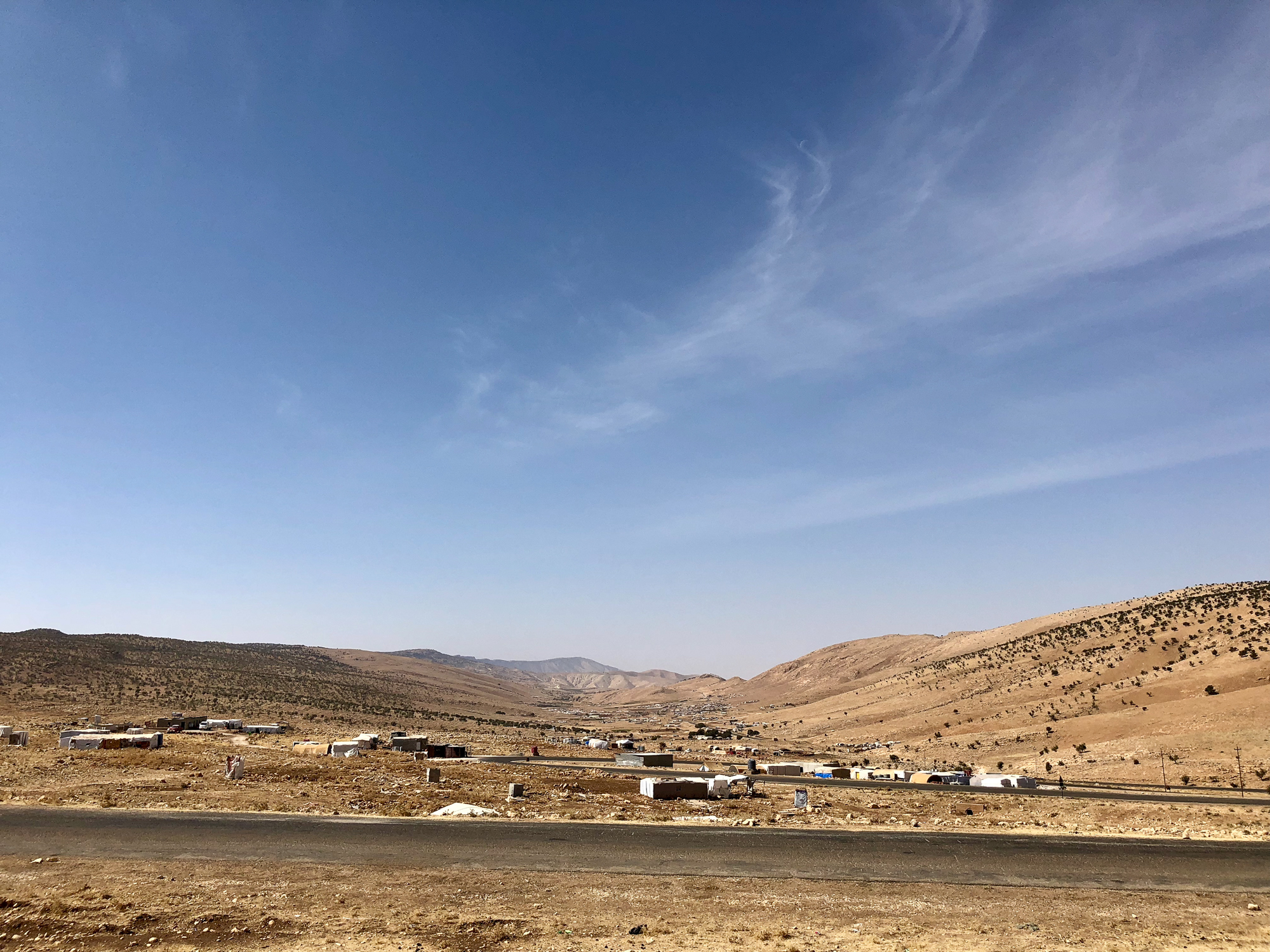 Above the Sinjar mount