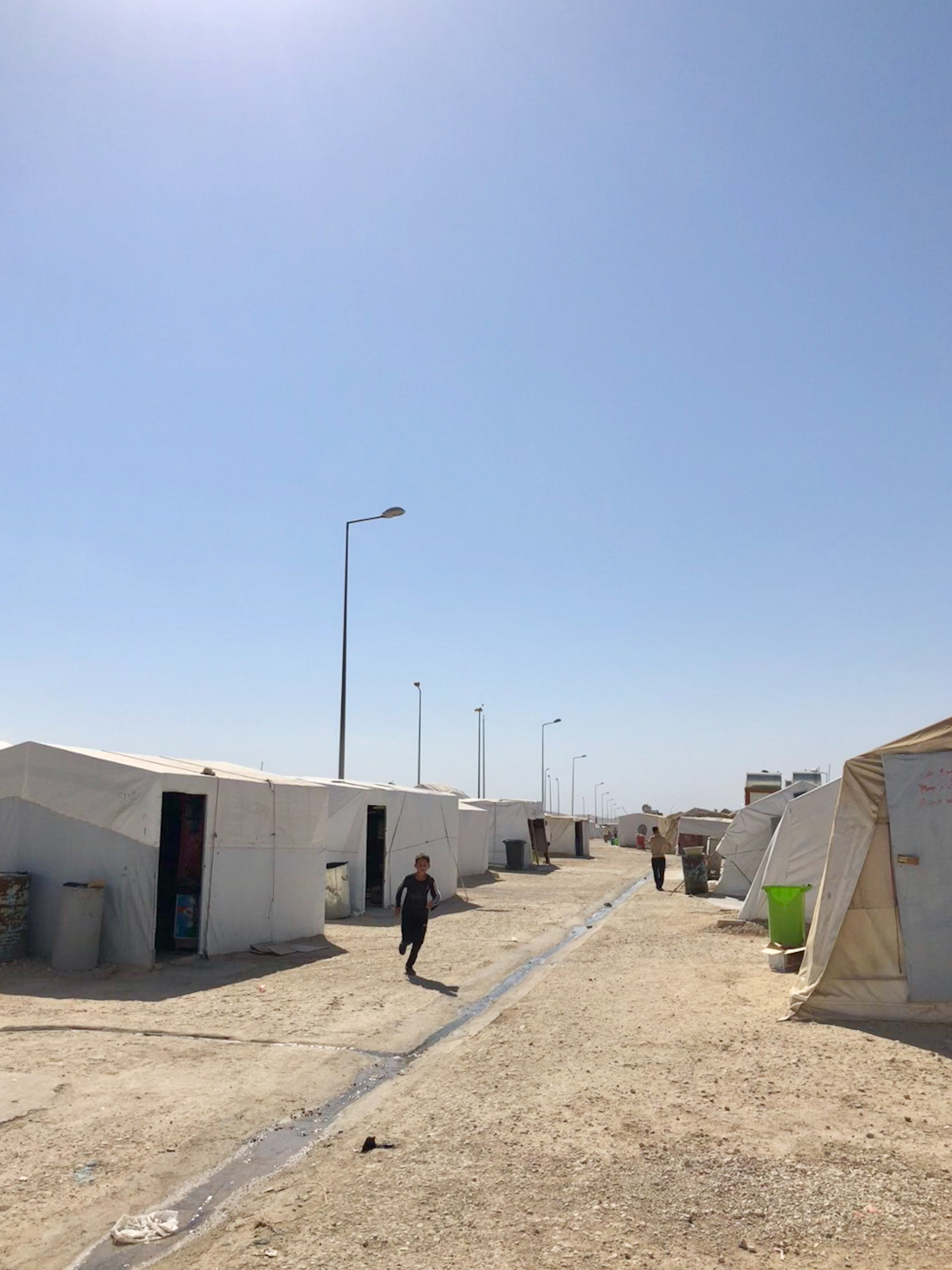Official refugees camp near Dohuk