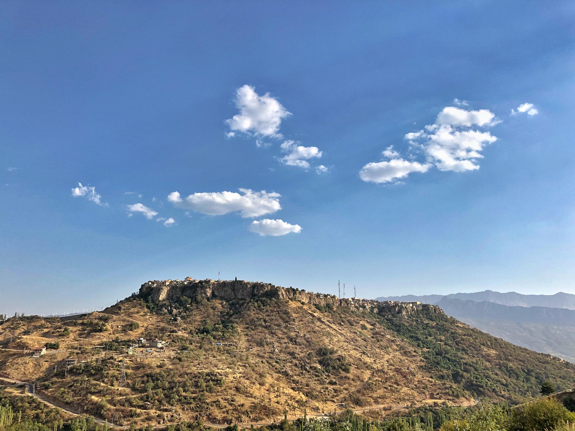 The beautiful city of Amediye