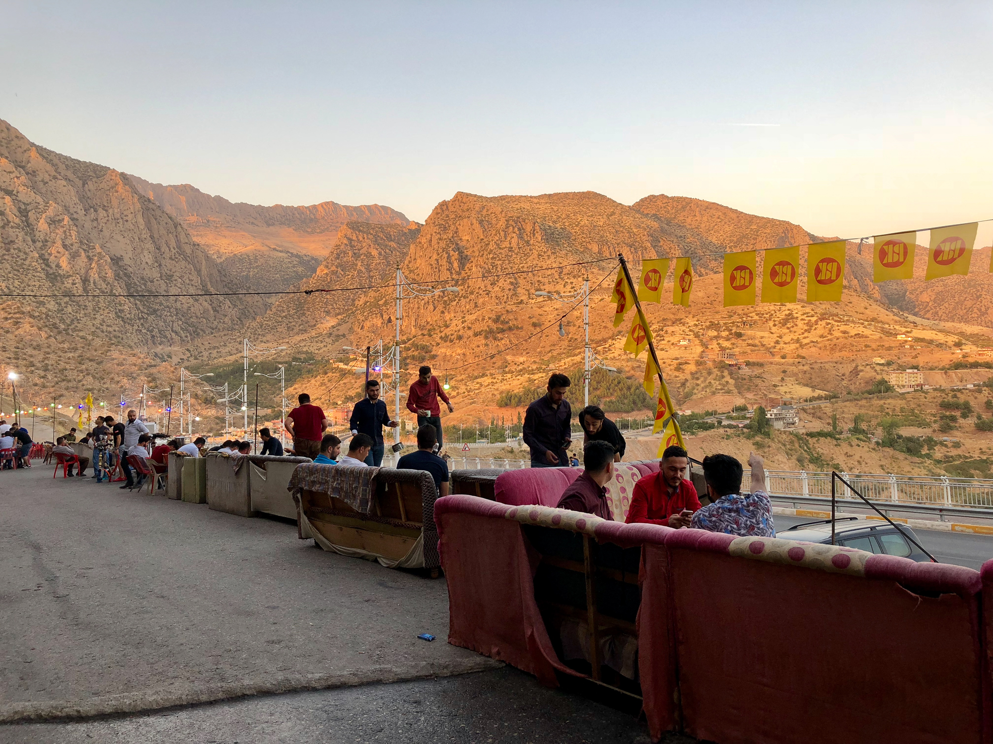 A beatiful bar outside the city of Amediye