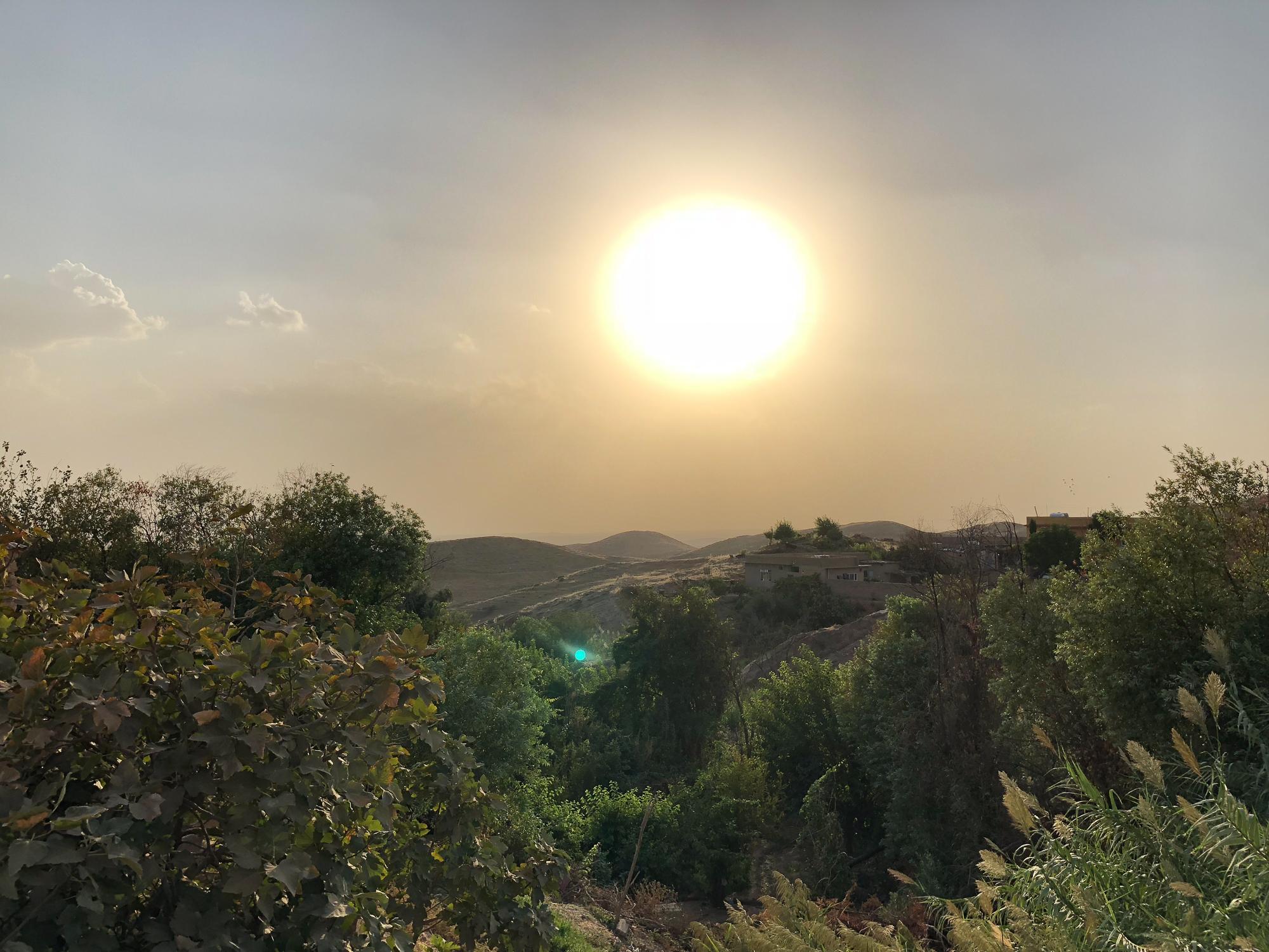 A landscape from Shekan
