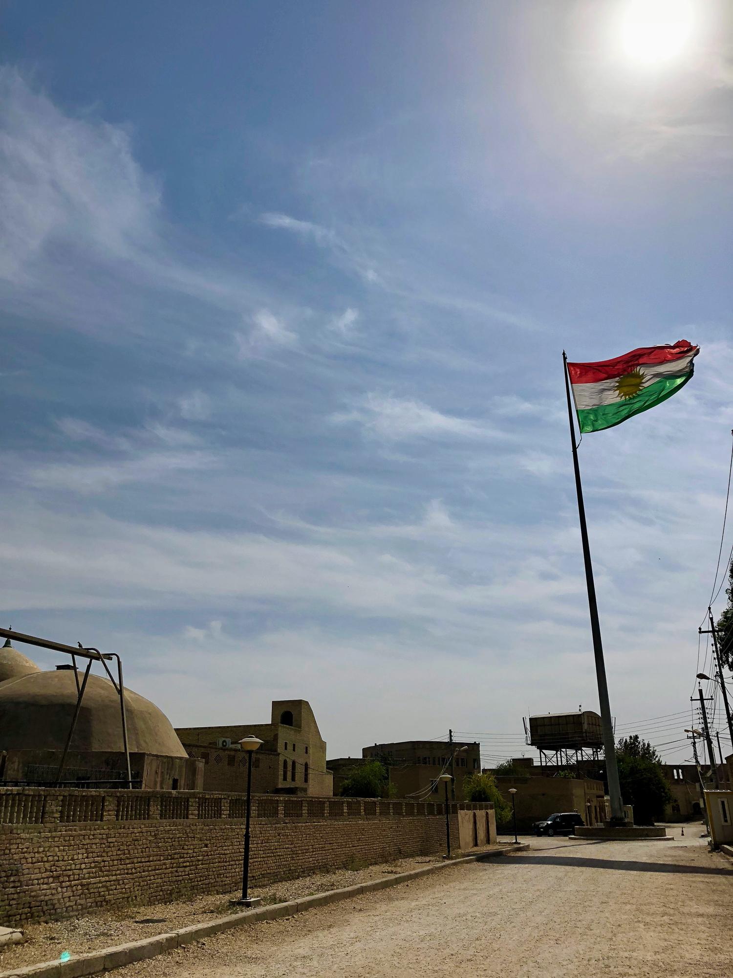 Inside the citadel of Erbil