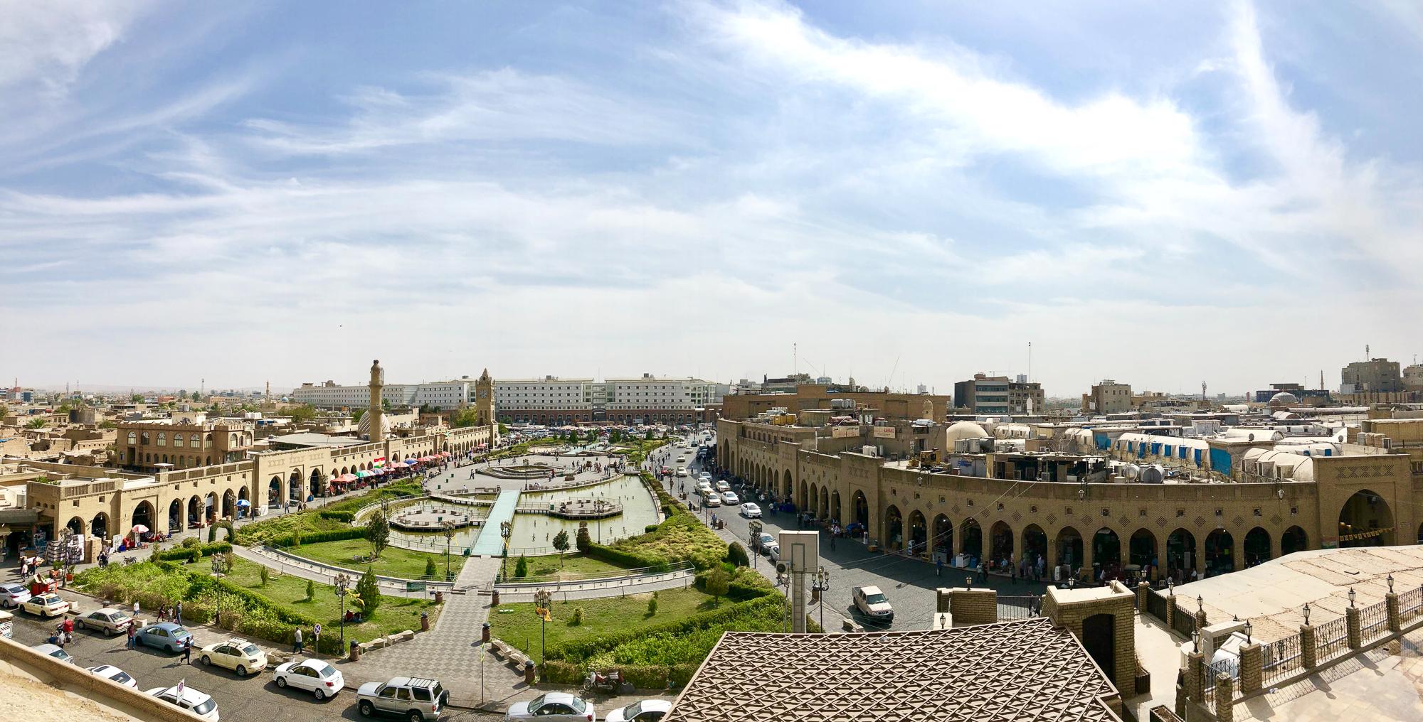 Erbil central square
