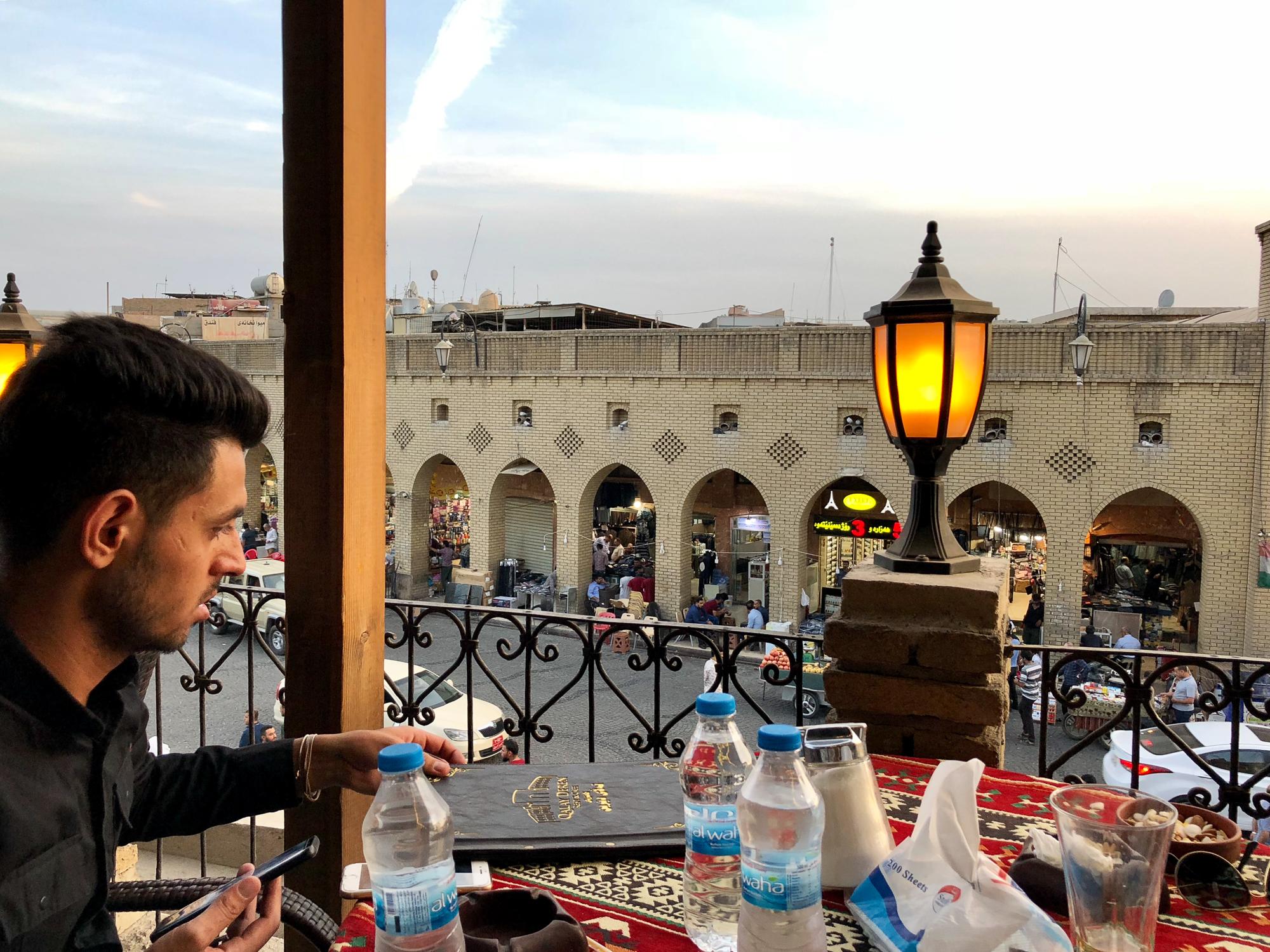 Cofee shop in Erbil