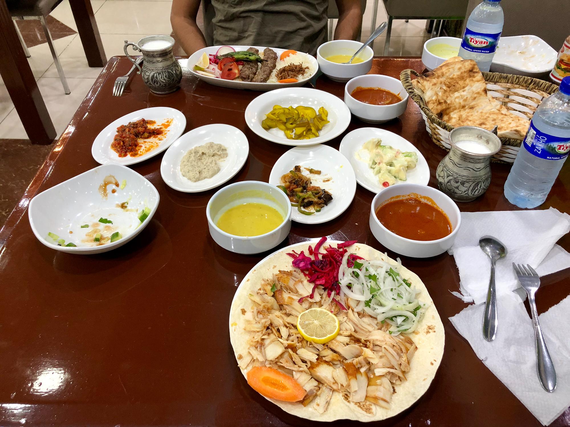 The last dinner in Zakho