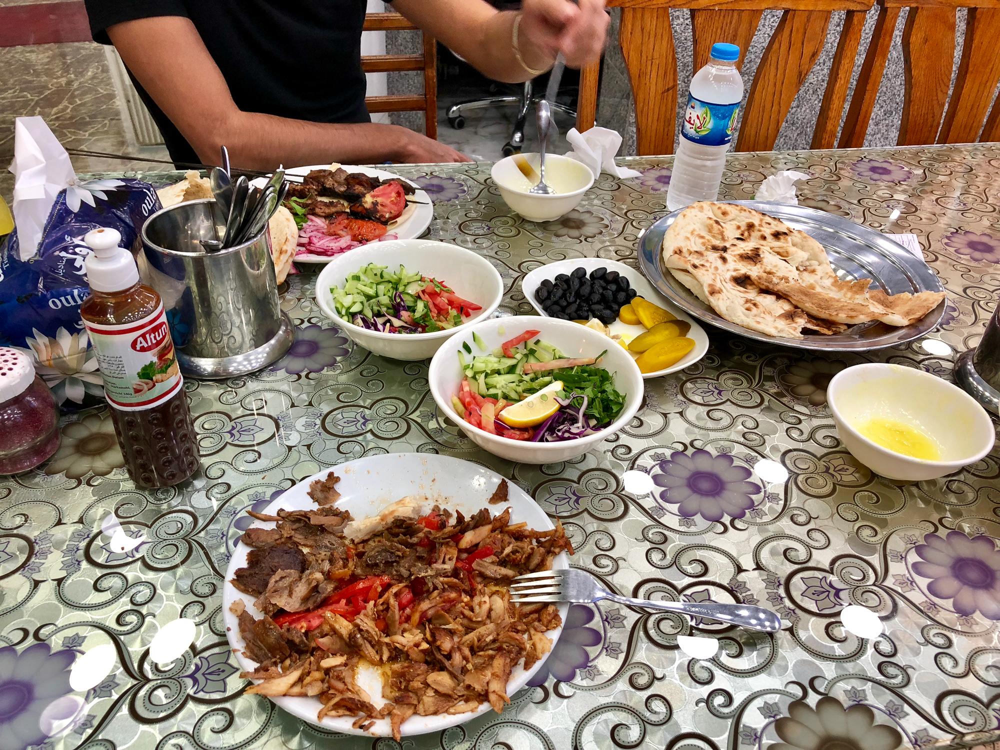 Dinner in Dohuk