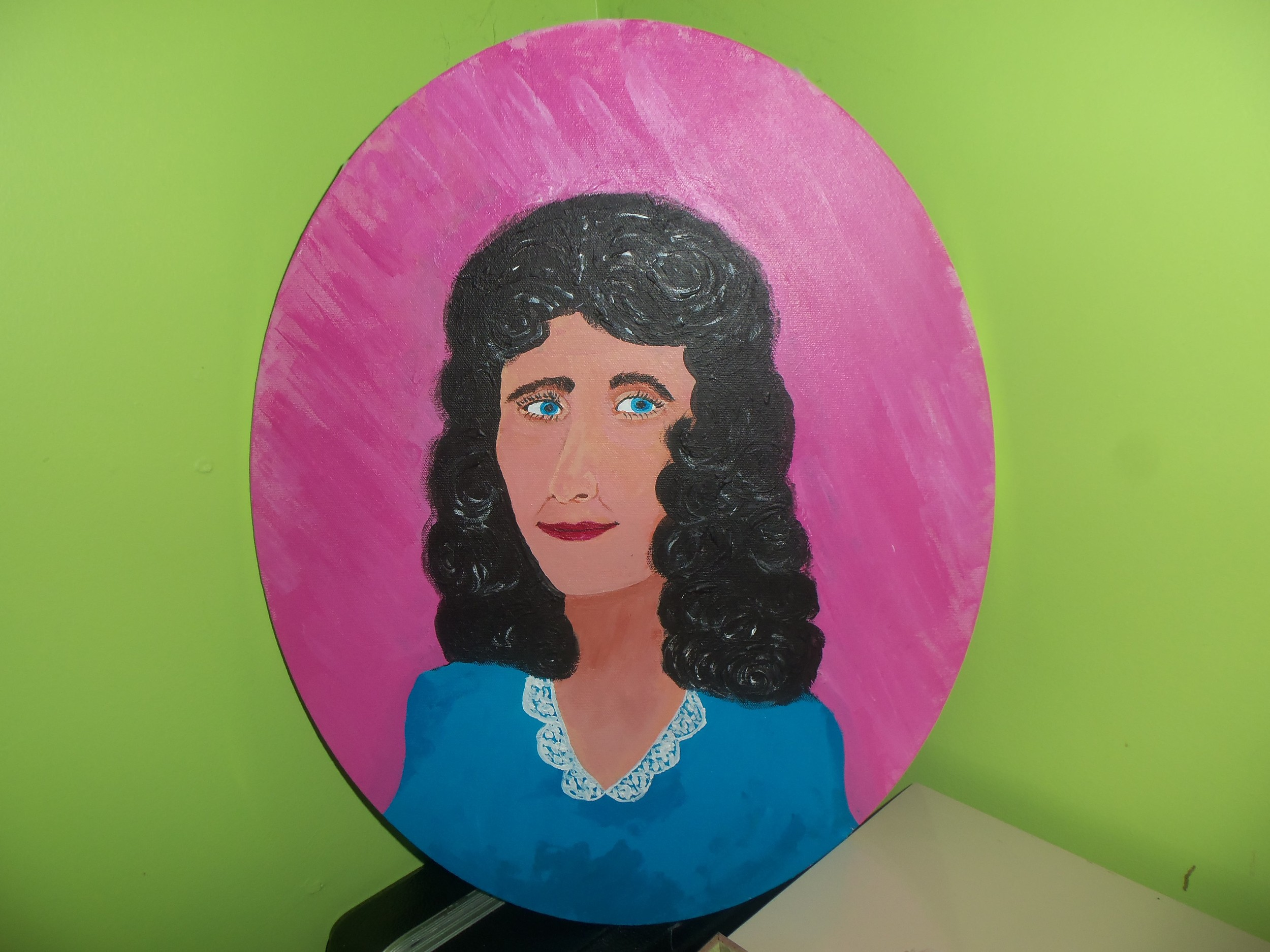 Fannie Brock from Red Bird, Kentucky by Kathy Storrie