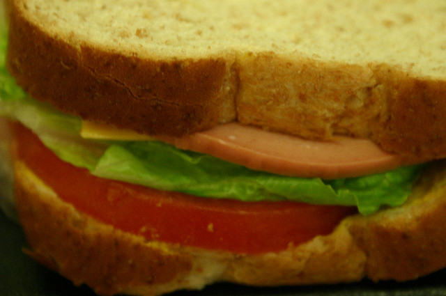 BOLOGNA SANDWICH BY  PENGRIN  CREATIVE COMMONS WWW.FLICKR.COM