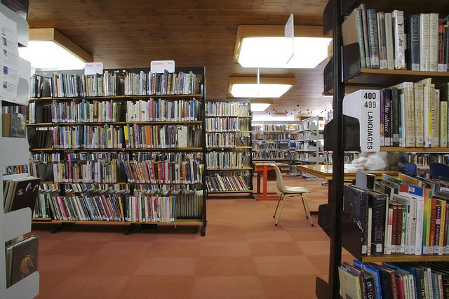 At least the Dewey Decimal System is Universal by  Megan Byrd  Creative Commons Flickr