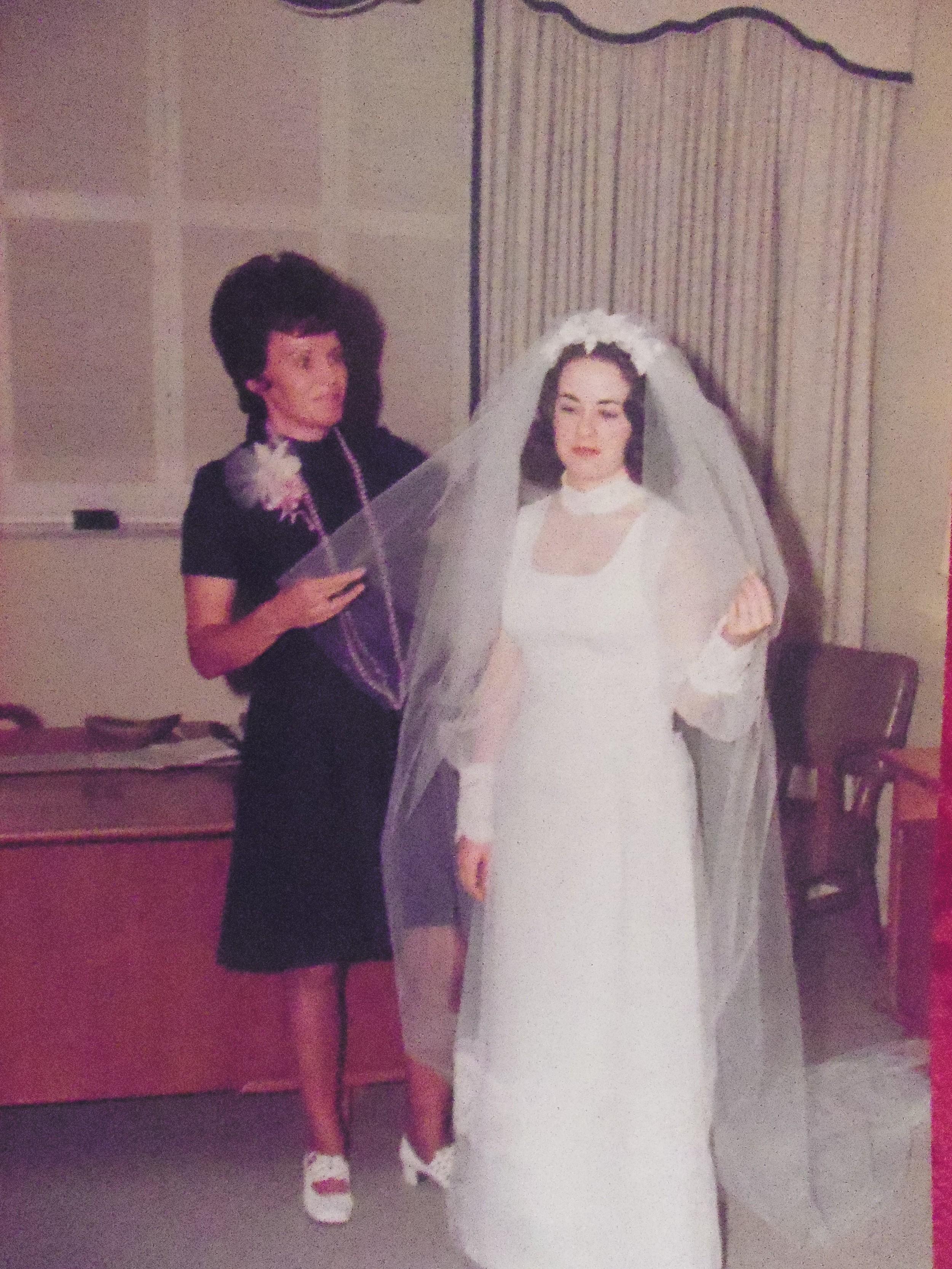 MARIE WILCOX  KATHY WILCOX STORRIE  1973