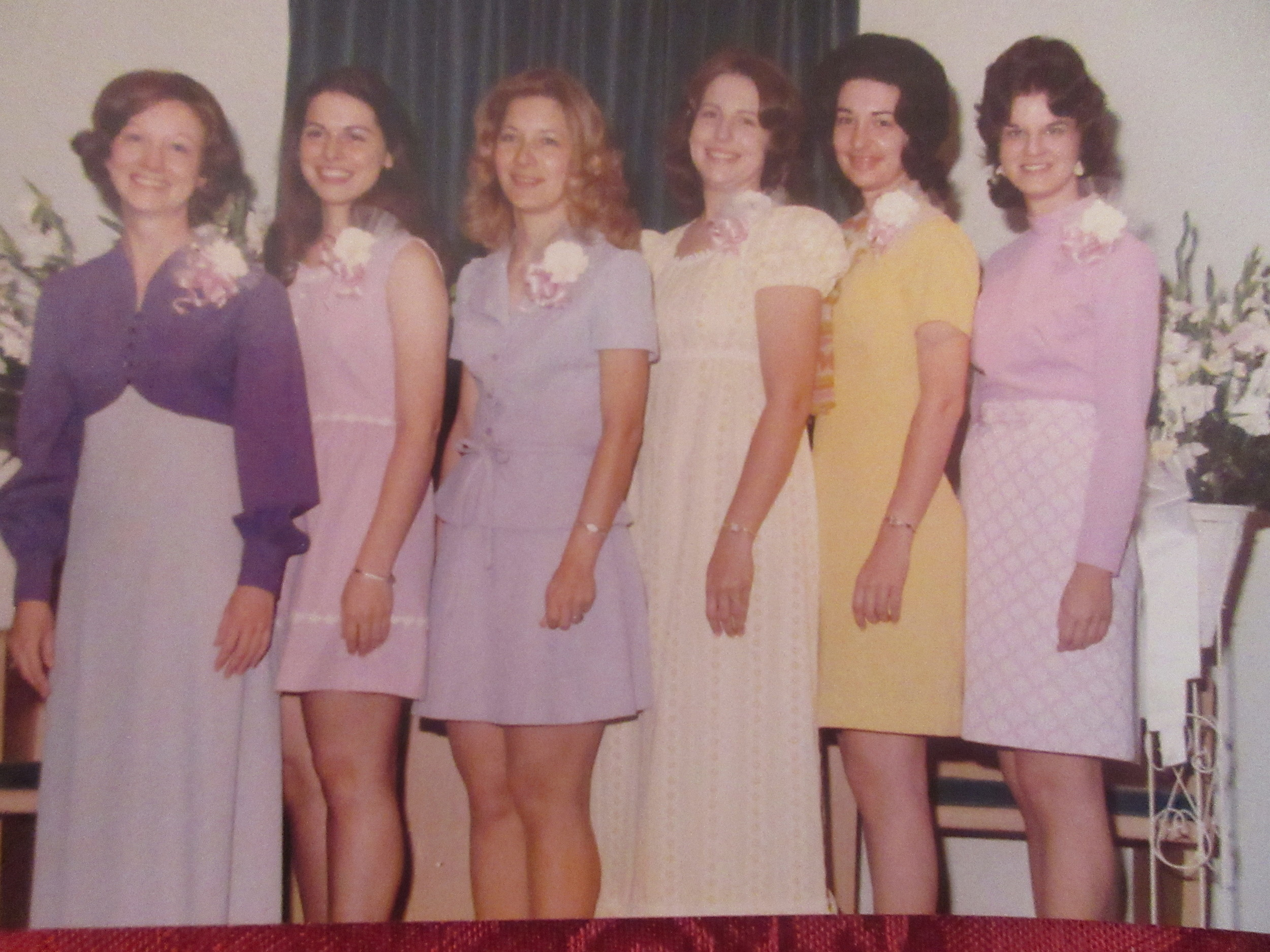 Carolyn Franklin~Debbie Wilson~Susan Childress~Rachel Stevens~Linda Jones~Helen DeBoe