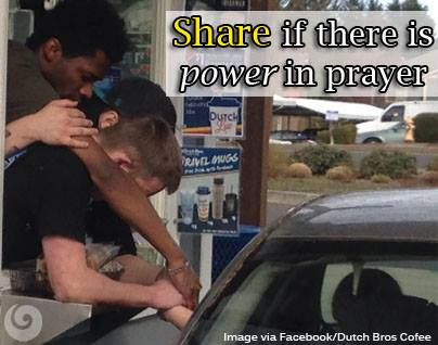 There is power in prayer that jesus gives us at salvation TO HELP OTHERS.