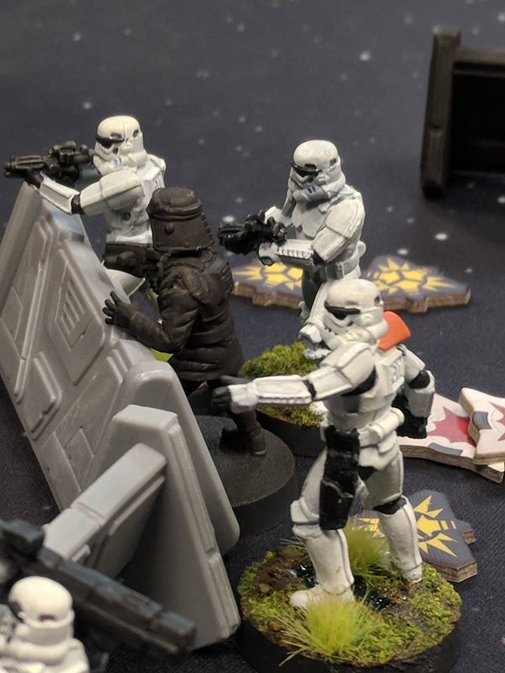 My new Star Wars legion army, hand painted