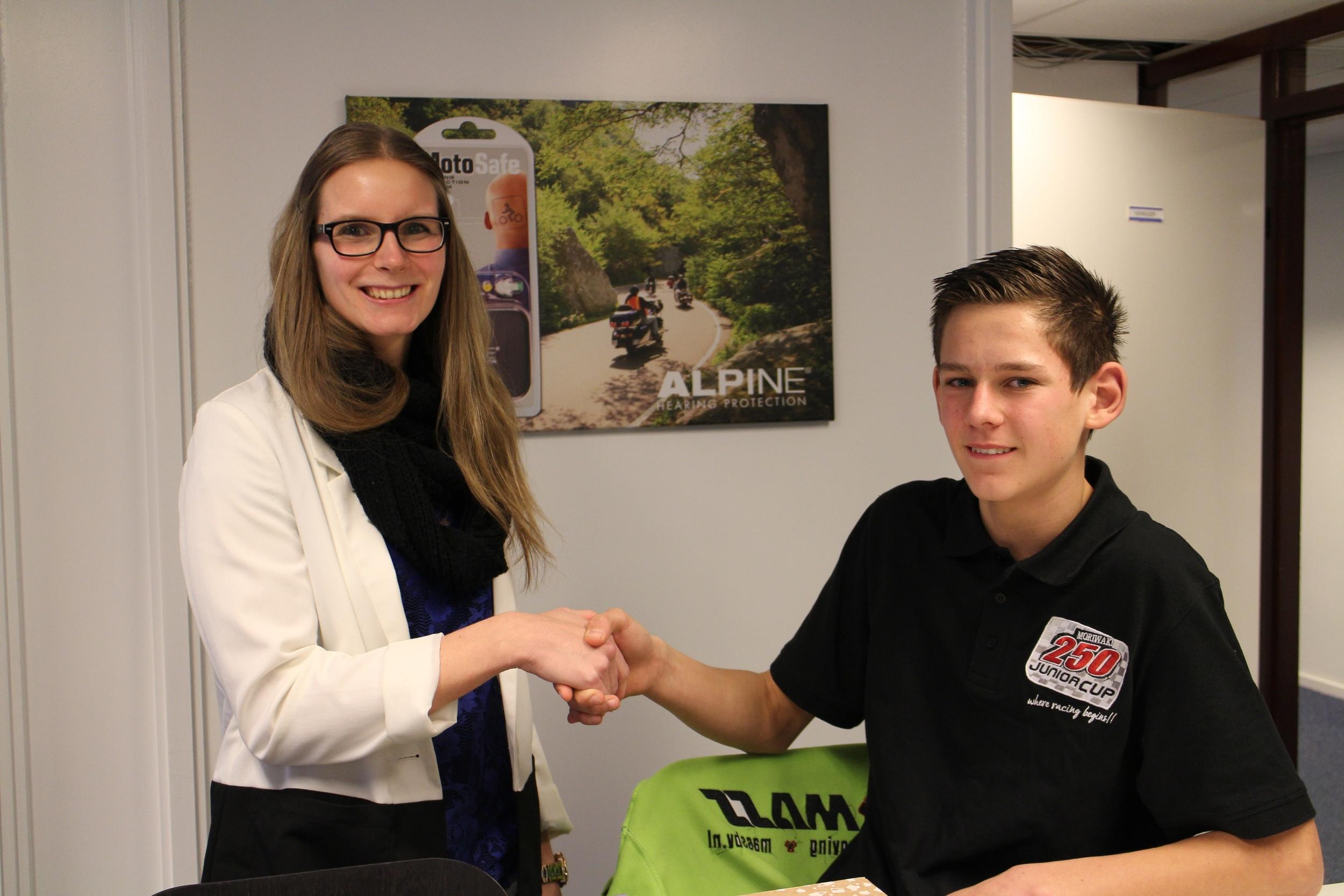 Hartelijk bedankt Shirley Klarenbeek en Alpine Hearing Protection!