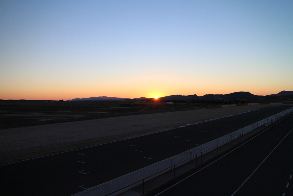 Almeria, 7:45 's ochtends, 6,5 graden.