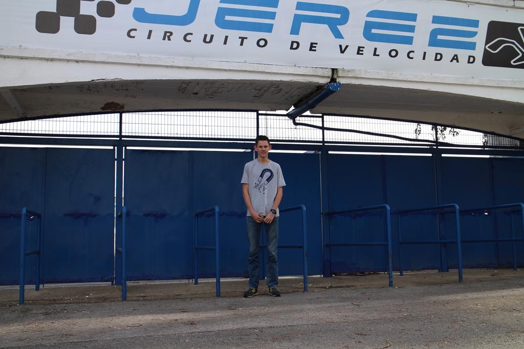 Na 2.300km aangekomen op Jerez