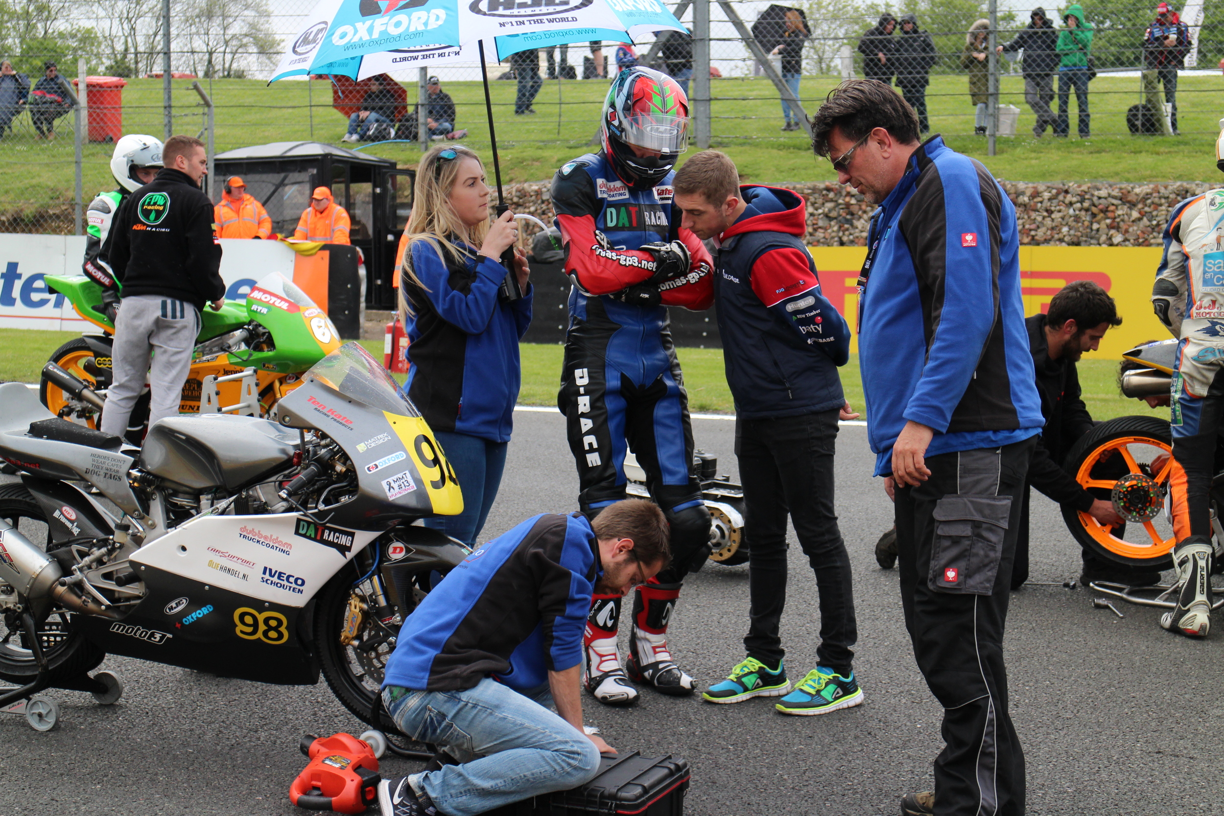 Pre-race tips from British Superbike rider Lee Jackson!