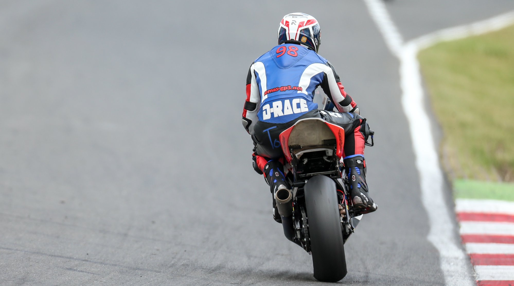 Voor het eerst dat ik zoveel vertrouwen heb in de motor na de kwalificatie. P.C. Raceline Images