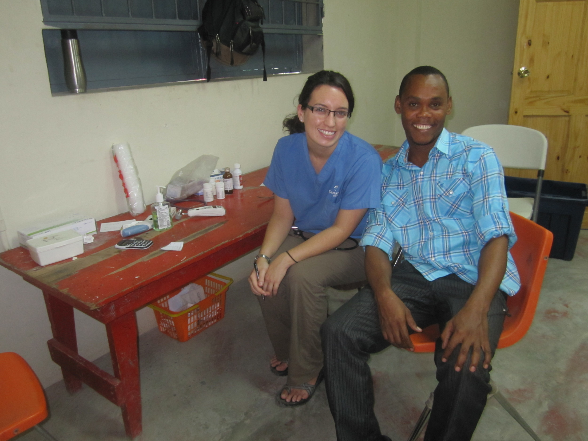 Eddy, one of our triage translators