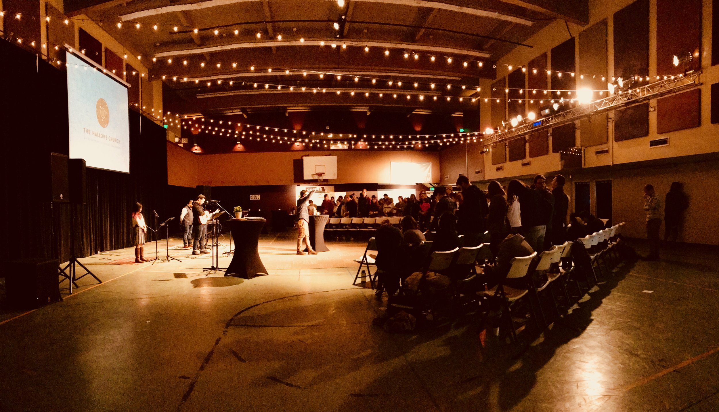 Our Fremont Expression's first worship gathering at our home across from the zoo (4900 Dayton Ave. N.) at 4 p.m. this past Sunday.