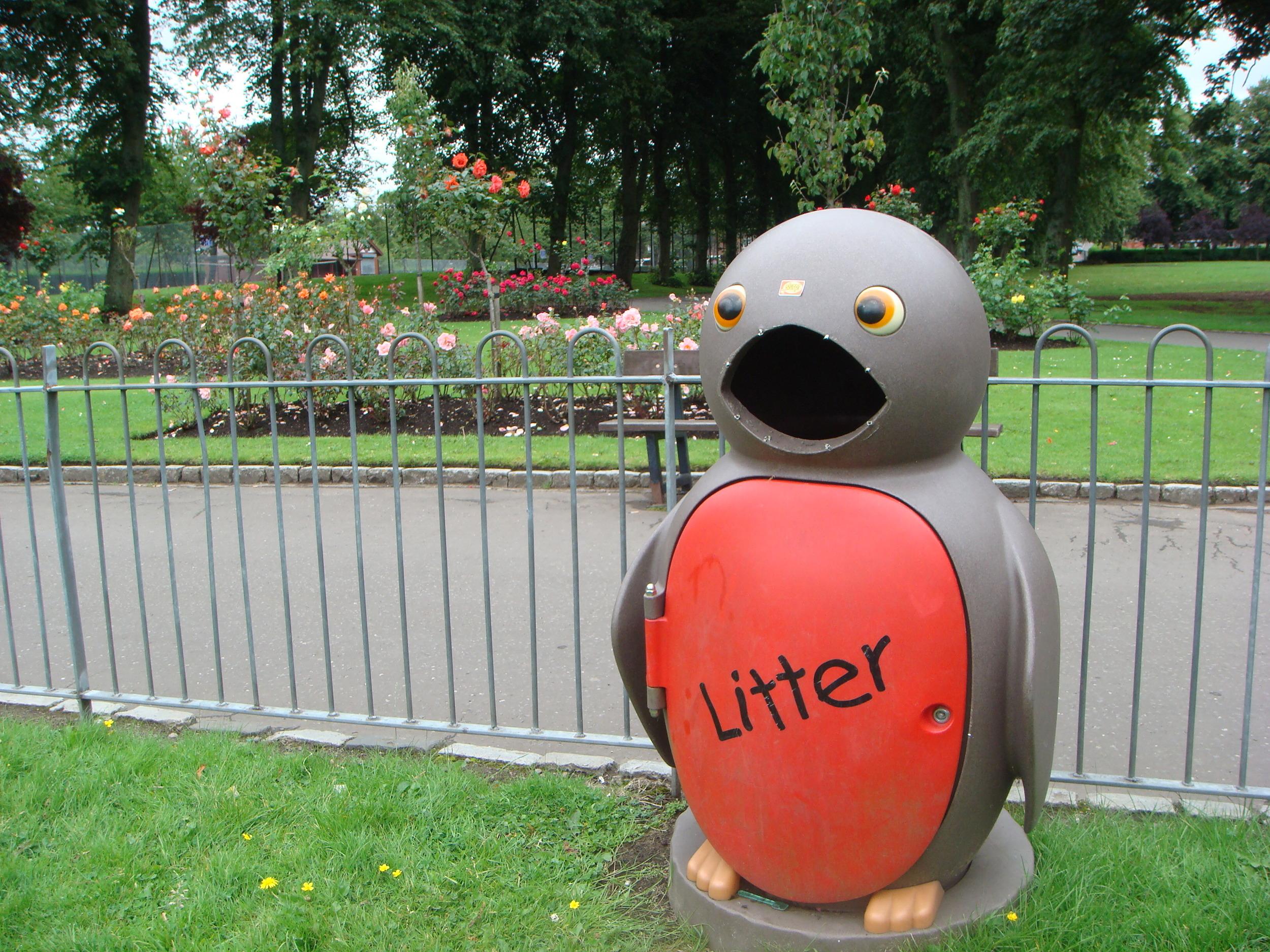 Litter, Glasgow