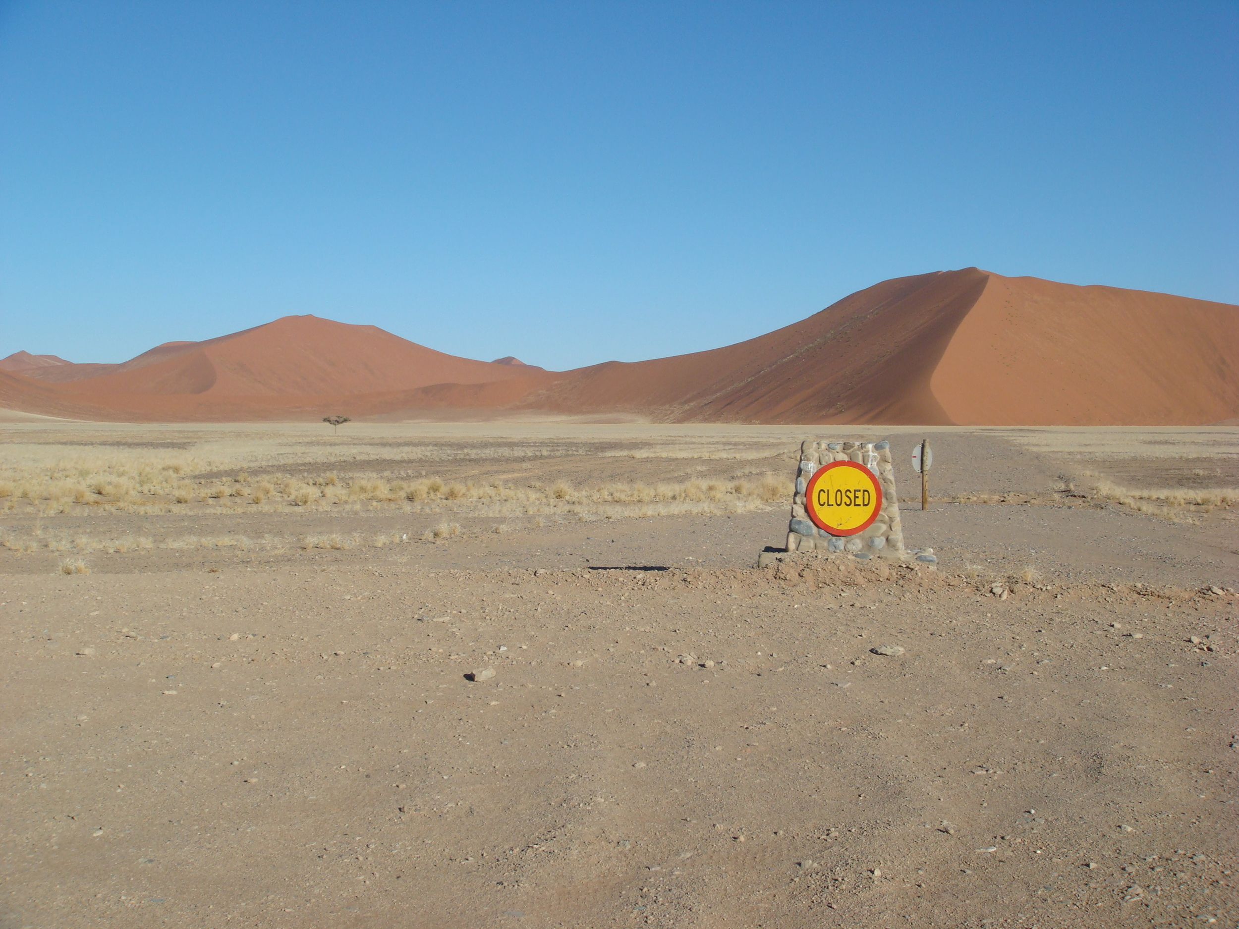 Closed. Sossusvlei,Namibia
