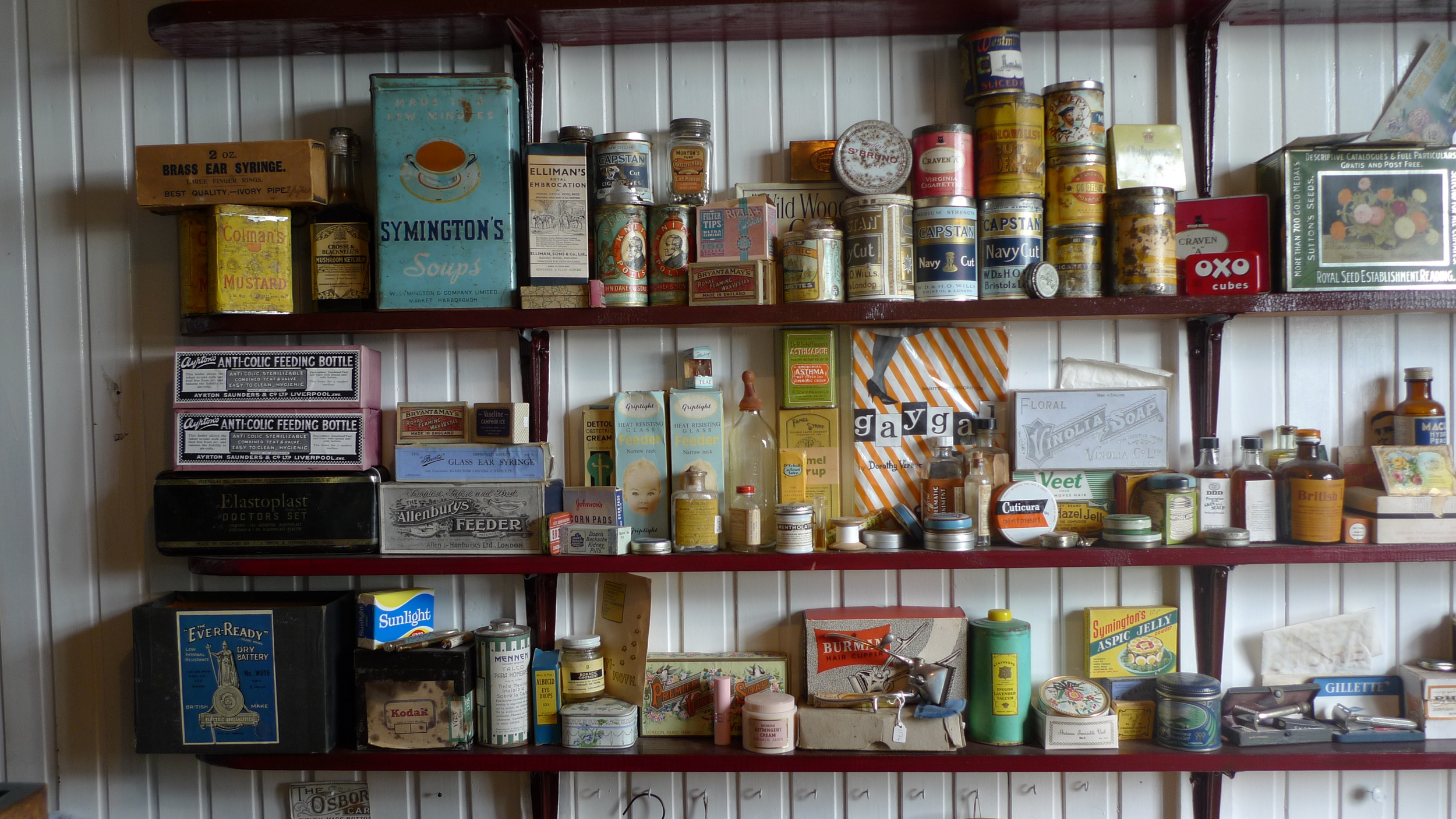 Products of yore, Falkland Islands