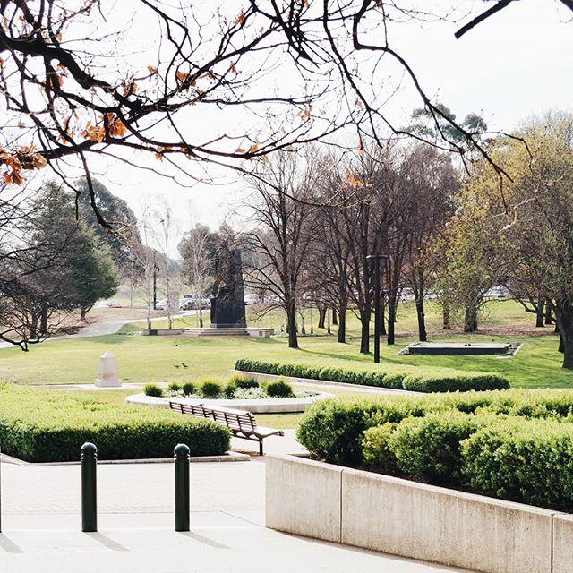 War Memorial gardens.  #Canberra #warmemorial #ABMtravelbug #travel #adventure #wanderlust #mytinyatlas #exploremore #seeaustralia #dametraveler #finditliveit #openmyworld #welivetoexplore #igtravel #vscotravel