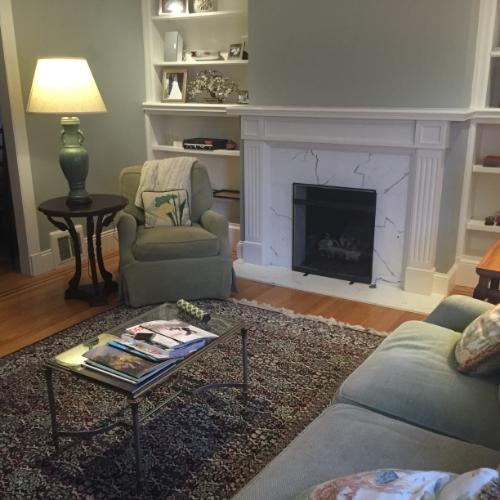 Living room: still a work in progress