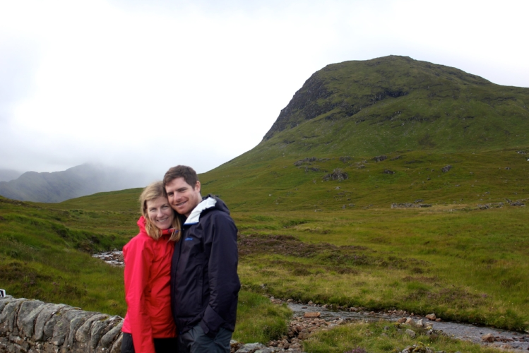 Last year, on the West Highland Way in Scotland
