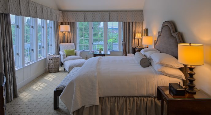 This is actually the room we stayed in! Photo courtesy of fearrington.com