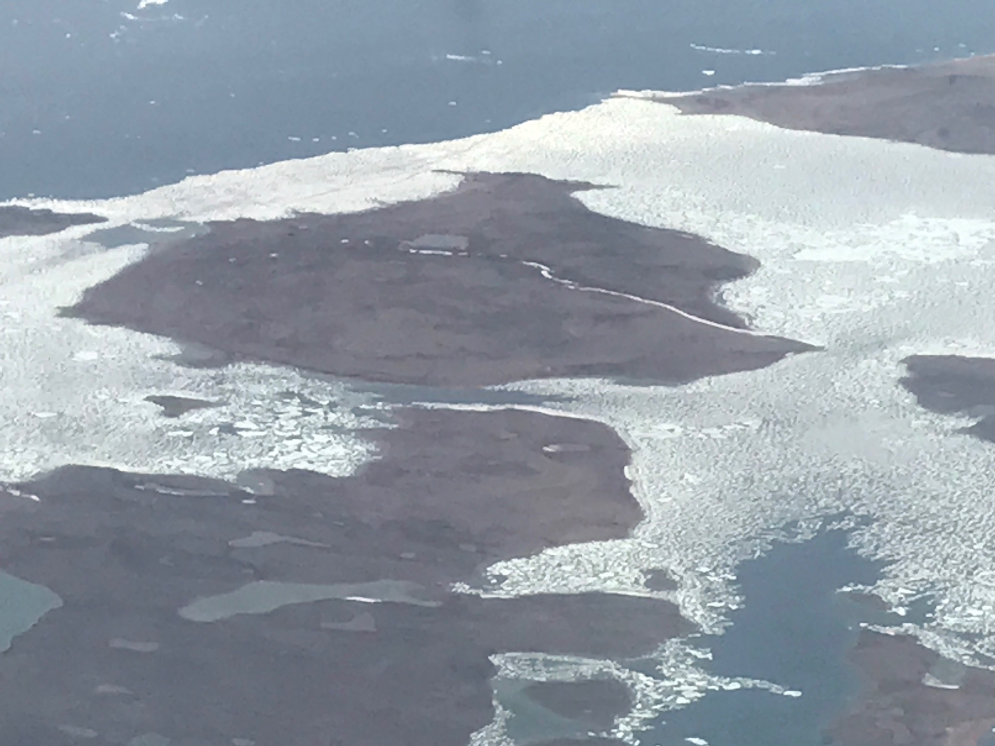 Sea ice on Somerset Island