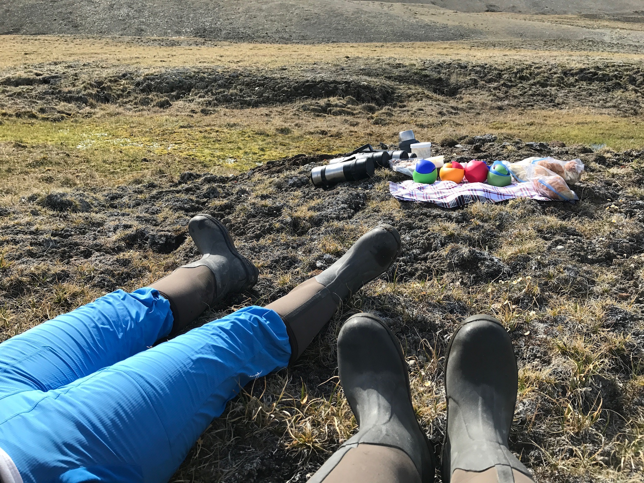 A gourmet picnic in the high Arctic... only at Arctic Watch