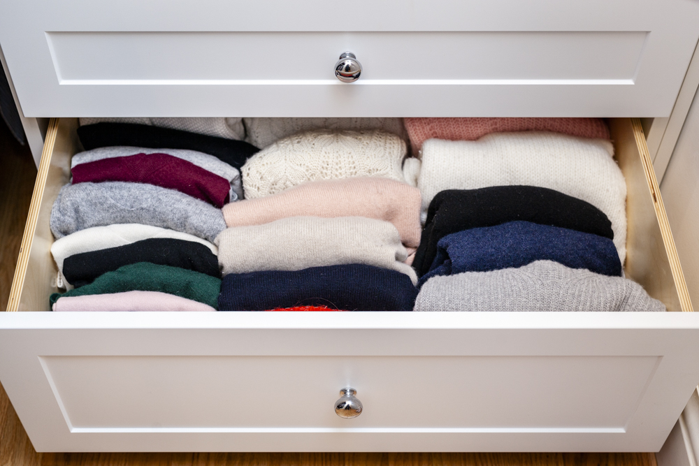 Yes, I do the KonMari fold - it really does work well!